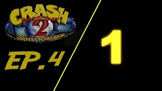 Crash Bandicoot 2 Cortex Strikes Back w/Mr.Speak Ep.4 (Death of me)
