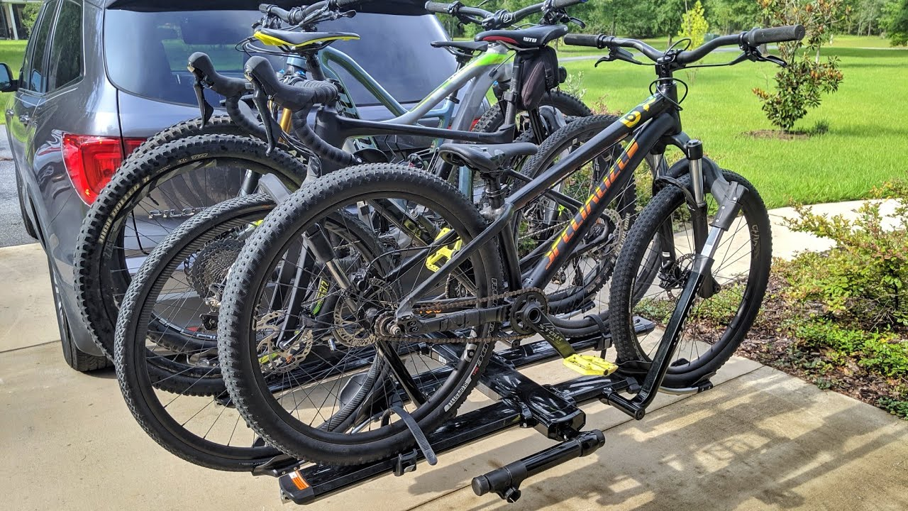 kuat nv 2 0 bike rack review with 2 bike add on