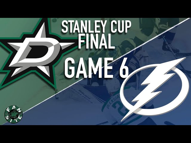 Dallas Stars vs Tampa Bay Lightning | 2020 Stanley Cup Playoffs Final, Game 6