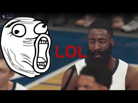 That's why we love NBA 2K ^_^  Enjoy...... ЕПИК фейл на стриме