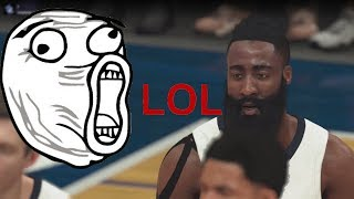 That's why we love NBA 2K ^_^  Enjoy...... ЕПИК фейл на стриме