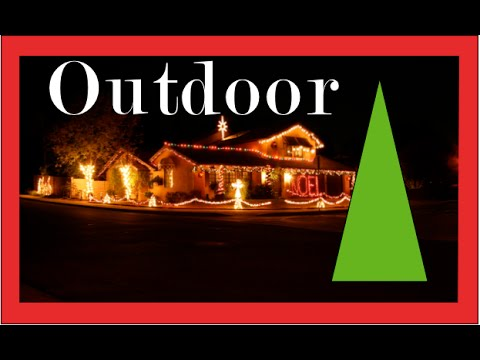 Christmas Decorating with Outdoor Christmas Lights