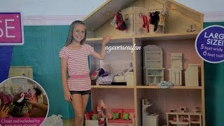 My Girl's Dollhouse | American Girl, Journey Girl, And Our Generation Dollhouse ~opening ~