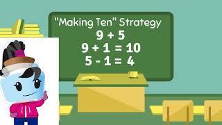 Addition Strategy (Making 10) - 1st Grade Math (1.OA.6)