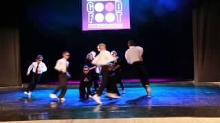 Брейк-данс начинающие к/ф Матрица (Отчётный танцевальный концерт