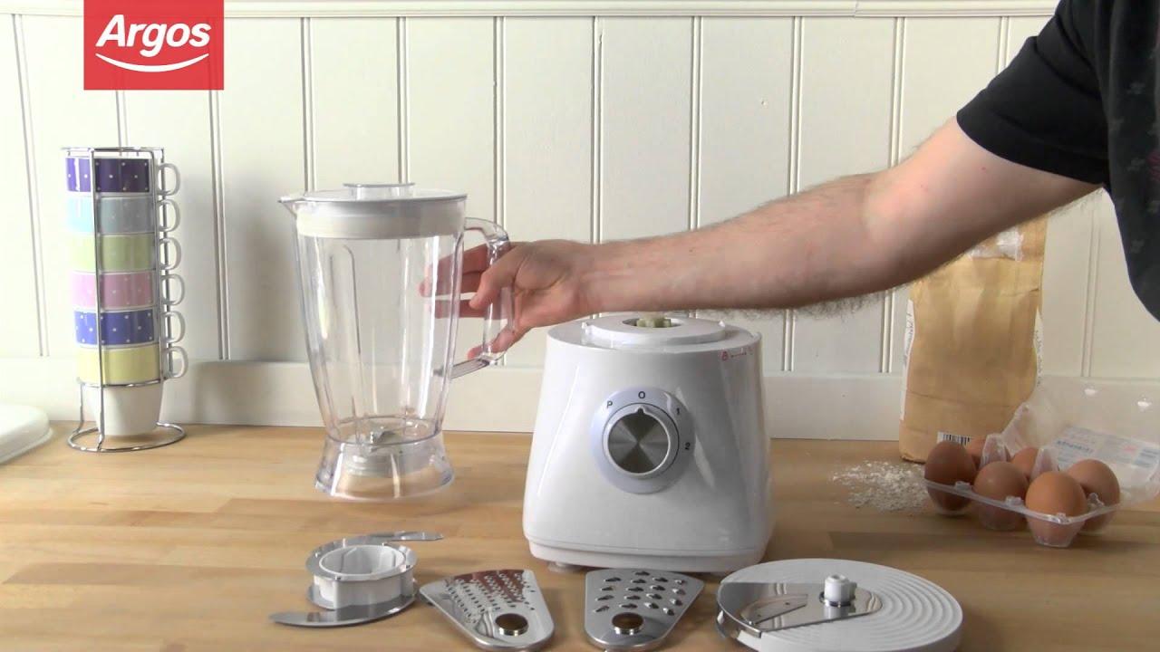 Cookworks SG500 White Food Processor Argos Review