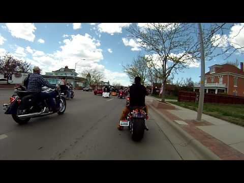 Casper Wyoming 2015 Blessing of the bikes