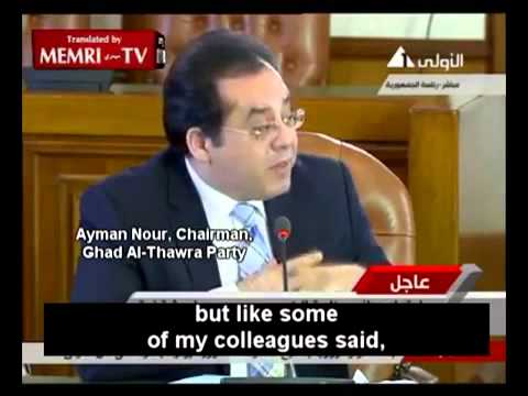 English Translation  Egypt Politicians unaware they are on LIVE TV Video by Memri TV