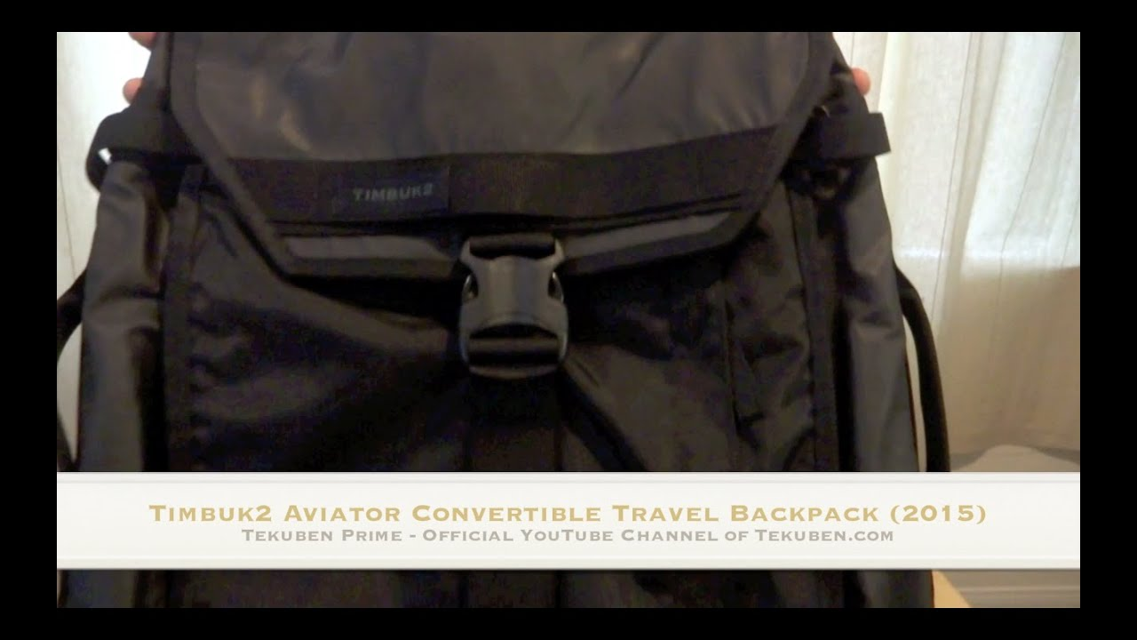 9e54861928 Review  Timbuk2 Aviator Travel Backpack 2015
