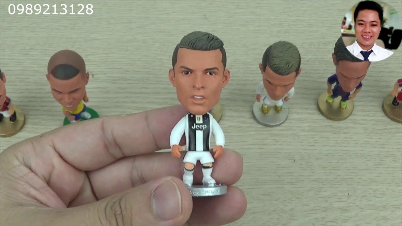 Tượng cầu thủ bóng đá MH01 | Mô hình cầu thủ bóng đá | Tượng Ronaldo, Messi