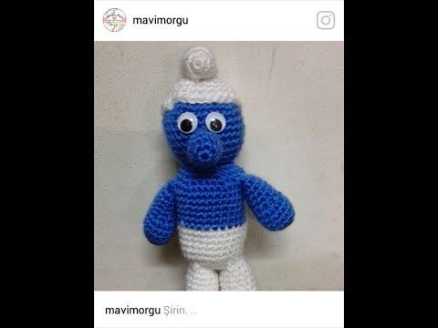 Amigurumi Örgü Şirin Kız Bebek Yapımı ( Anlatımlı ) – Örgü, Örgü ... | 360x480