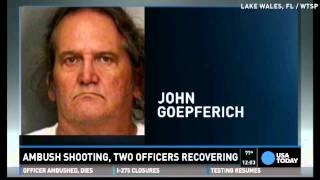 Cops: Gunman lured officers to home, then ambushed them