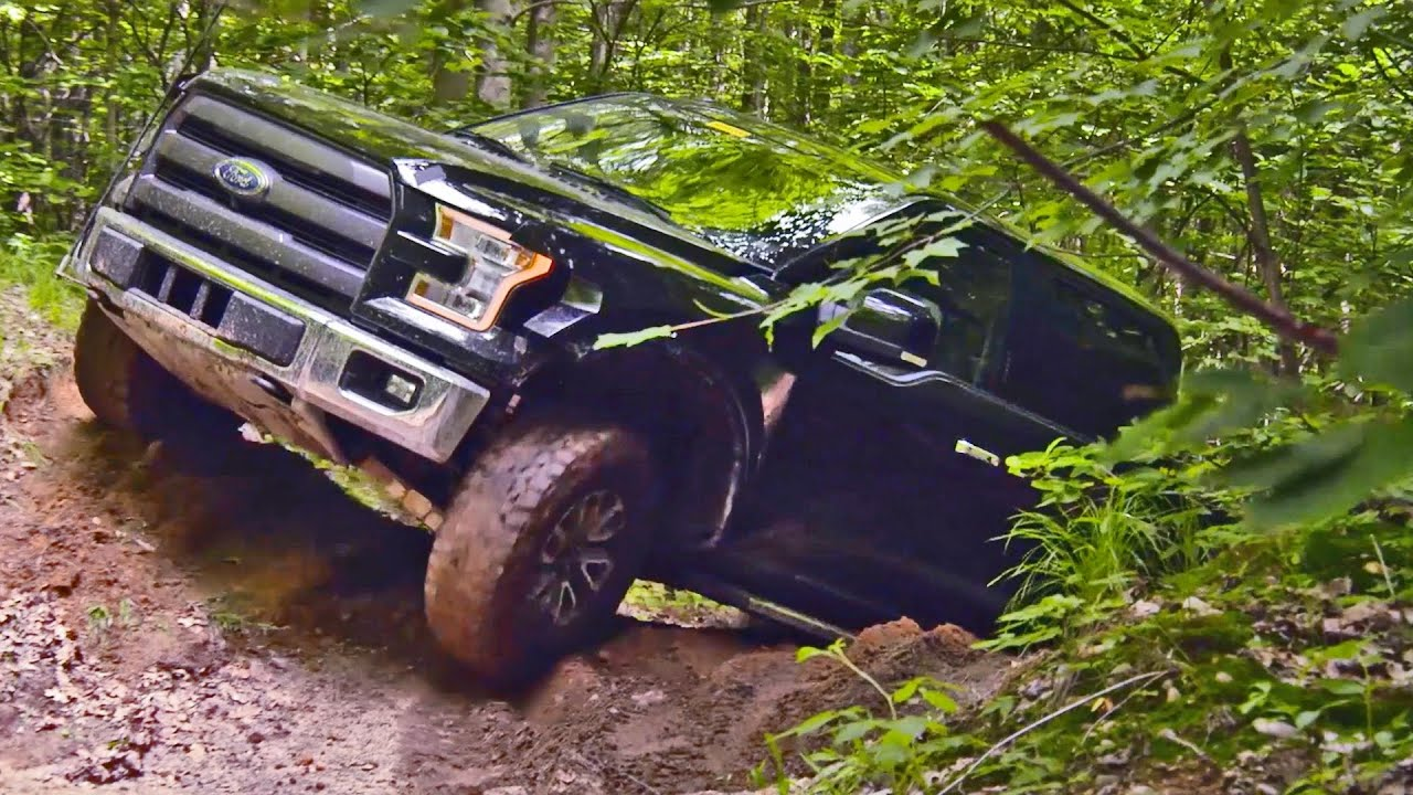 2017 Ford F-150 RAPTOR Proto - Off-road Testing - YouTube