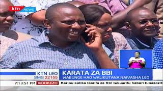 Wabunge wa mrengo wa Tangatanga kuandaa mikutano mbadala za kuwalimisha wakenya kuhusu BBI
