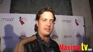 JEREMY LONDON Interview at MIKALAH GORDON 21st Birthday Party