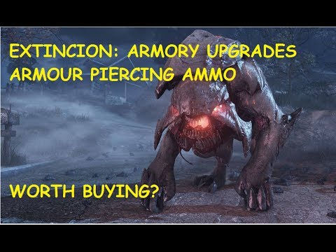 Call Of Duty: Ghosts-Extincion Armory Upgrade-Armor Piercing Ammo