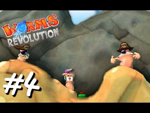 """Worms Revolution Let's Play [Part 4]: """"I Don't Even Care!""""  """