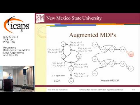 "ICAPS 2014: Ping Hou on ""Revisiting Risk-Sensitive MDPs: New Algorithms and Results"""