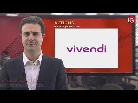 Bourse - Action Vivendi, profitait hier d'une recommandation - IG 16.01.2018
