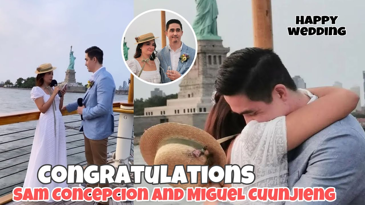 YAM CONCEPCION AND MIGUEL CUUNJIENG WEDDING IN NEW YORK ~ YAM AND MIGUEL KAKAIBANG WEDDING