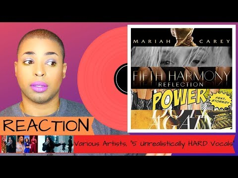 "Various Artists, ""5 Unrealistically HARD Vocals..."" 