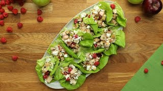 Apple Berry Chicken Salad Wraps // Presented by Marie