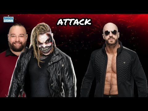 """WWE BRAY WYATT """"THE FIEND"""" ATTACK CESARO DURING HIS MATCH AFTER SMACKDOWN"""