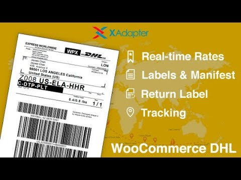 WooCommerce DHL Express/Paket Shipping Plugin with Print Label