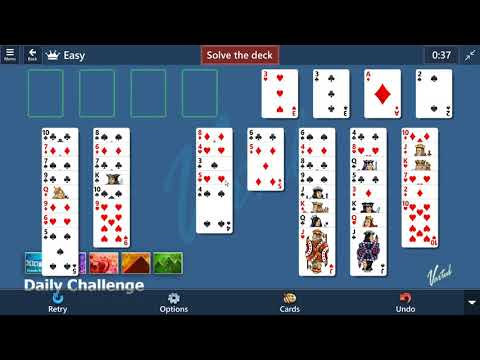 Microsoft Solitaire Collection - FreeCell | Daily Challenge June 12th 2021