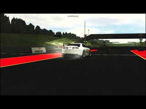 LFS - Toyota Supra Burnout