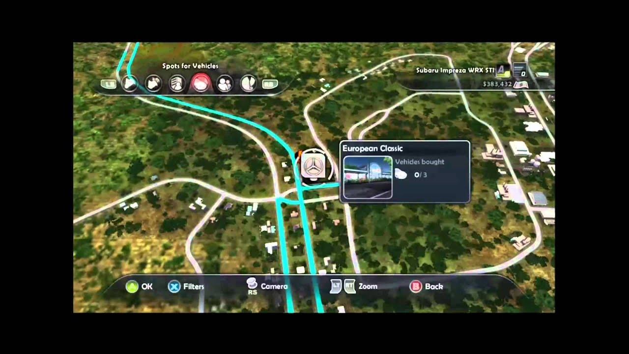 Test Drive Unlimited 2 Hawaii Car Dealer Locations Youtube