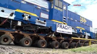 Empresa suíça vende maior locomotiva do mundo ao Brasil thumbnail