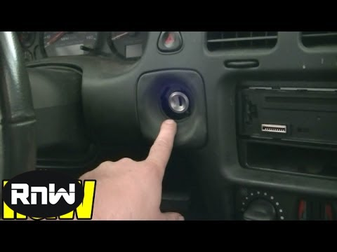 How To Remove And Replace An Ignition Switch Chevy Monte
