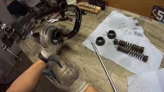 разборка ашановилки, приколы с материалами и смазками