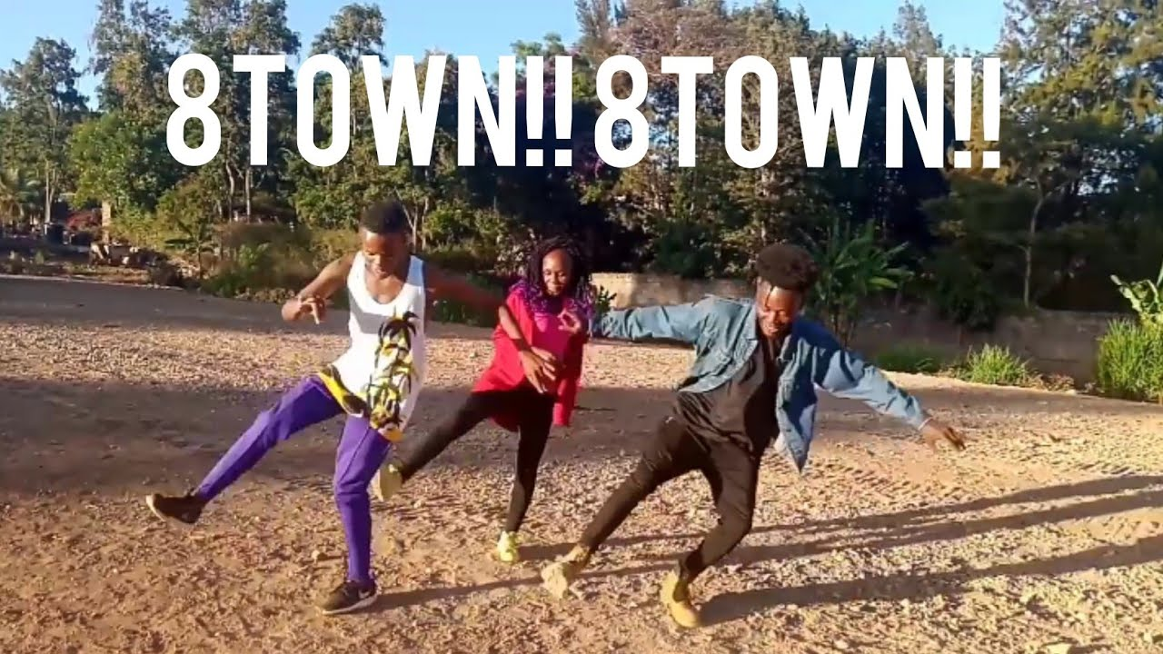 Jamaica lifestyle VOICEMAIL_LANGUAGE choreography featuring 8town dance movement(KIBERA) #gone viral