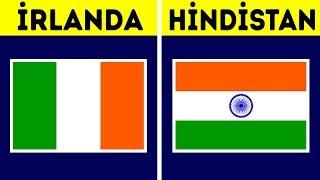 Bayrakları Neredeyse Aynı Olan 31 Ülke