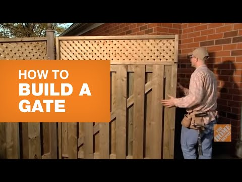 How To Build A Gate (With Bonus Lattice Feature)