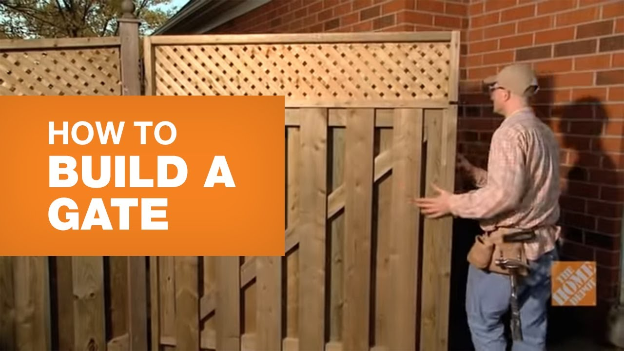 How To Build A Gate The Home Depot Canada,Personal Identity Graphic Designer Personal Logo