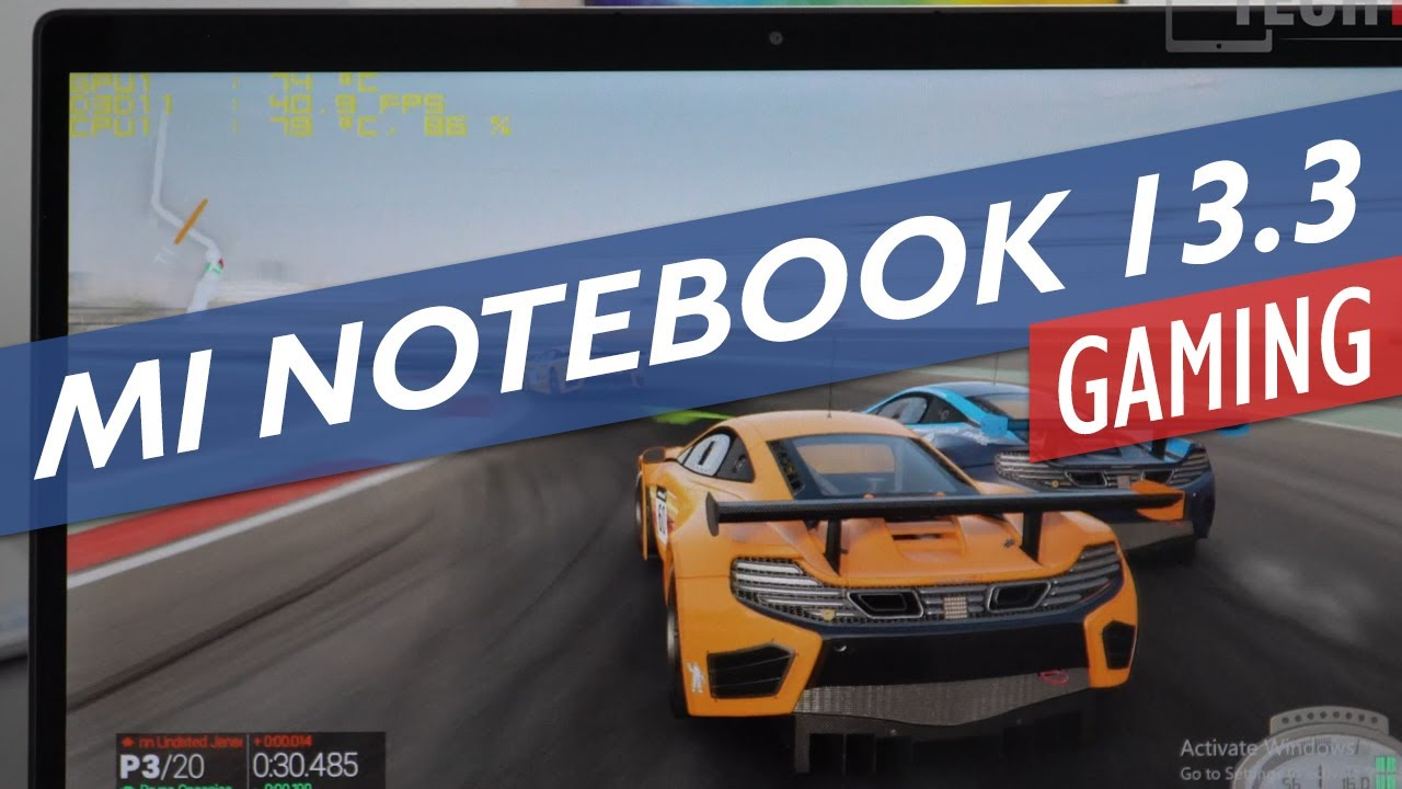 Mi Notebook Air 13 2017 - Nvidia MX150 Gaming Review