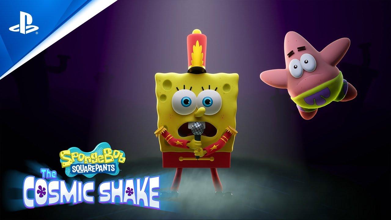 Download SpongeBob SquarePants: The Cosmic Shake – Announcement Trailer | PS4