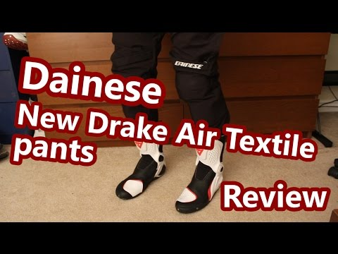 Dainese New Drake Air Textile Pant Review