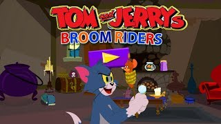 Tom and Jerry - Broom Riders. Fun Tom and Jerry 2018 Games. Baby Games  #littlekids