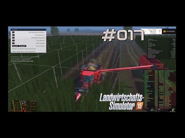 Let's Play Landwirtschafts Simulator 2015 | Hopfen ernten | Folge #017