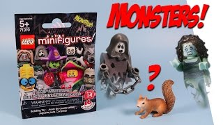 Lego Minifigures Series 14 Monsters Mystery Packs Opening