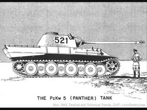 Panther and tiger tank. My favourite tanks of world war II ...