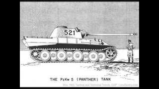 Panther and tiger tank. My favourite tanks of world war II
