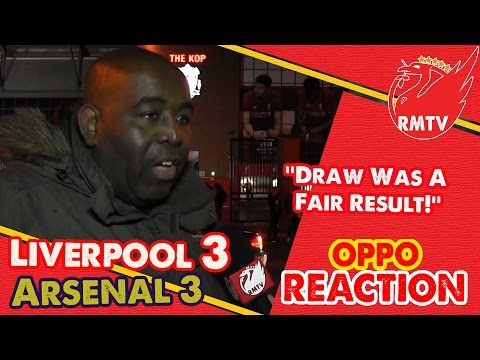 ''Draw Was A Fair Result!'' | Liverpool 3-3 Arsenal | Arsenal Fan TV