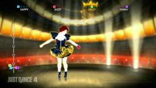 Emma - Cercavo Amore (Only in Europe) - Just Dance 4 - Gameplay