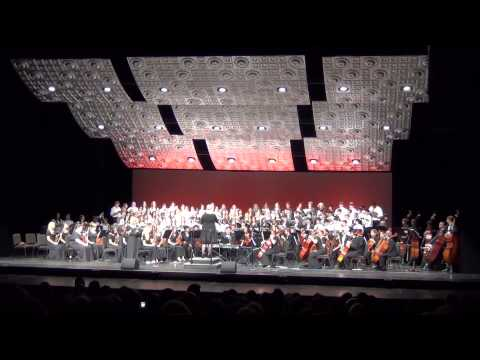 BGHS Choir & Orchestra Performs: Gloria Domine Deus