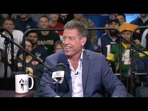Pro Football Hall of Famer Troy Aikman Talks Tom Brady, Matt Ryan & More - 2/3/17